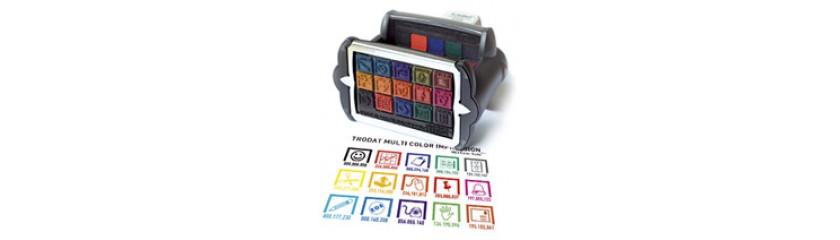Цветные печати и многоцветные штампы