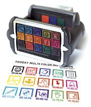 разноцветная печать